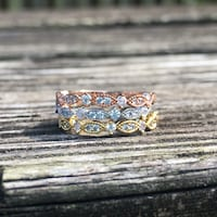 Dainty Gold Plated Stacking Rings-NEW Falls Church, 22046