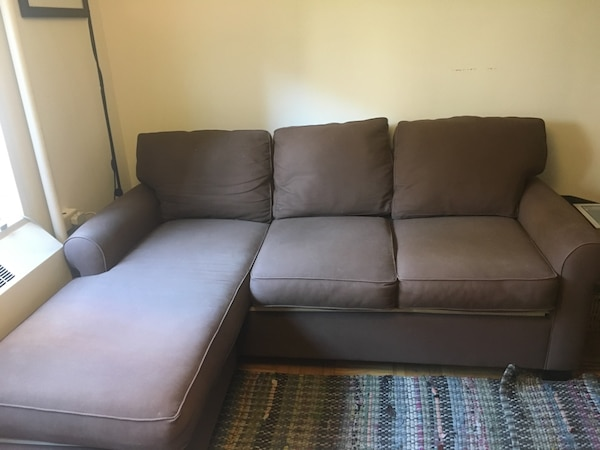 Pottery Barn Couch With Left Chaise