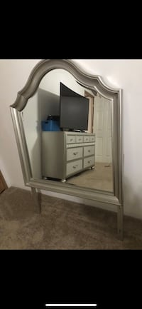 arch silver framed wall mirror Williamsburg, 23185