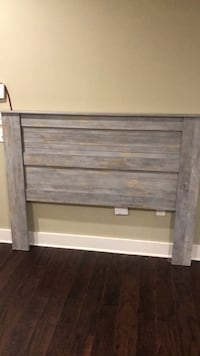 Light blue and tan queen/full size headboard Baton Rouge, 70820