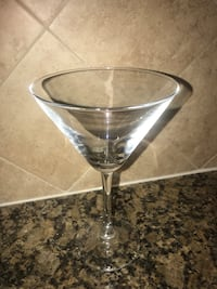 6 glass martini glasses Arlington, 22204