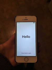 gold iPhone 5s with black case South Milwaukee, 53172