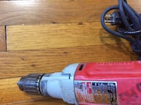 """Milwaukee 1/2"""" Drill with chuck key.... Baltimore, 21206"""