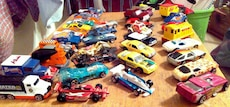 38 Hot Wheels and Matchbox; 70's, 80's, 90's