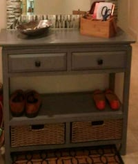 Dove gray entryway/console table Arlington, 22204