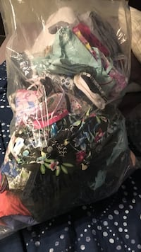 Bag of nursing scrubs size sm and medium !! Some new others used Calgary, T3H 0R9