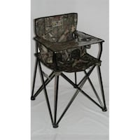 NEW!! Ciao! Baby Portable Highchair - Mossy Oak Camo St Thomas