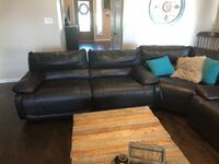 Perfect leather sectional from Star Furniture   Cypress, 77433