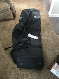 Black dk golf duffel bag Rifle, 81650