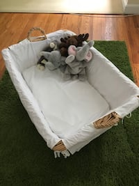 Pottery Barn Wicker Bassinet