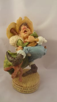 COLLECTION OF 3 COW PIE BY GRAHAM FIGURINES