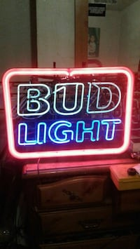 Bud light bar light