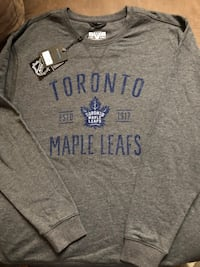 Maple leafs  crew neck sweater (men's ). Toronto, M3K 1E4