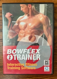 Bowflex (gently used) circa 2005 with DVD and manual Mississauga, L4Y 2K1