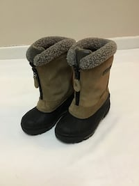 Kids COLUMBIA tan suede lined winter snow boots… Size 11 Manasquan, 08736