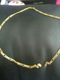 gold-colored chain necklace Labadieville, 70372