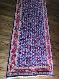 Antique Persian oriental wide long hallway runner rug carpet Clarendon Hills, 60514
