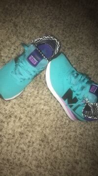 Purple and turquoise new balances Marion, 46952
