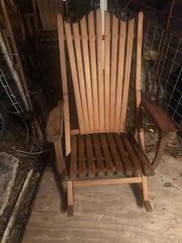 brown wooden rocking chair with brown wooden frame Valley Mills, 76689