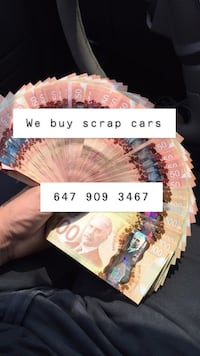 Scrap cars , unwanted cars , cars Toronto, M9W 3X2