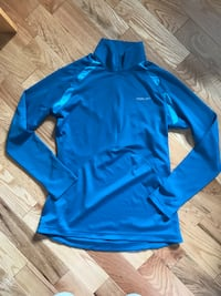 blue and white Nike pullover hoodie Russell, K0A 1W0