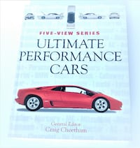 Ultimate Performance Cars 318 page hardcover