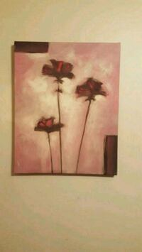Bouclair Wall Art Flower Painting Niagara Falls, L2H 2X8