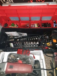 tool box full of stuff