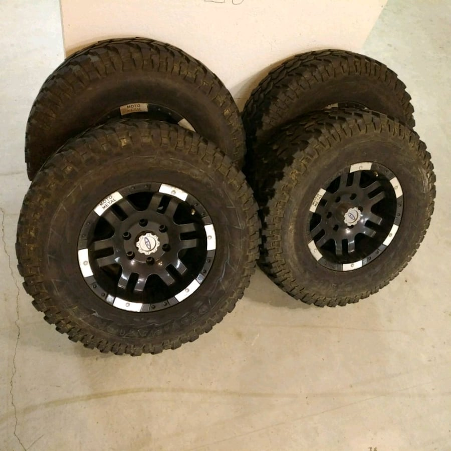 Mud Tires and Wheels
