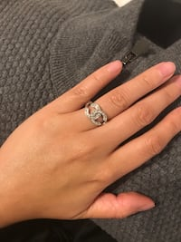 """Chanel"" ring size 7 Toronto, M9P 2N9"