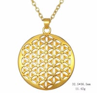 NEW - Flower of Life pendants with chain sets Guelph