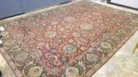 Gorgeous Handknotted 100% wool, vintage area rug 11×16 Piedmont, 73078