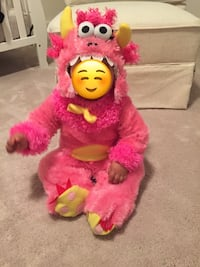 Pink Monster Halloween Costume 6-12 months size  Vienna, 22181