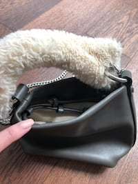 leather mini purse with chain Vancouver, V6B 2R5