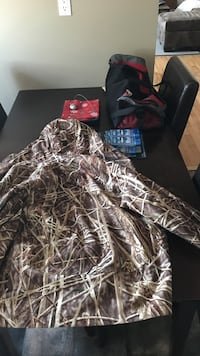 Camo hunting jacket with removable liner Springfield, R3X