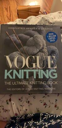 Vogue knitting book NEW!!