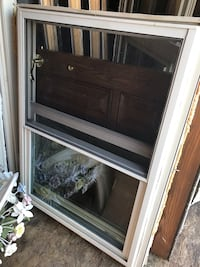Replacement windows. Size in pics. Great condition. About a year old. Off white/tan color. Just switched to white. These were originally $180 a piece, get these for $50 a piece    Edgewater, 21037
