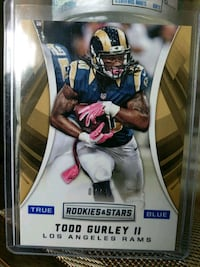Rams Todd Gurley insert card Paramount, 90723