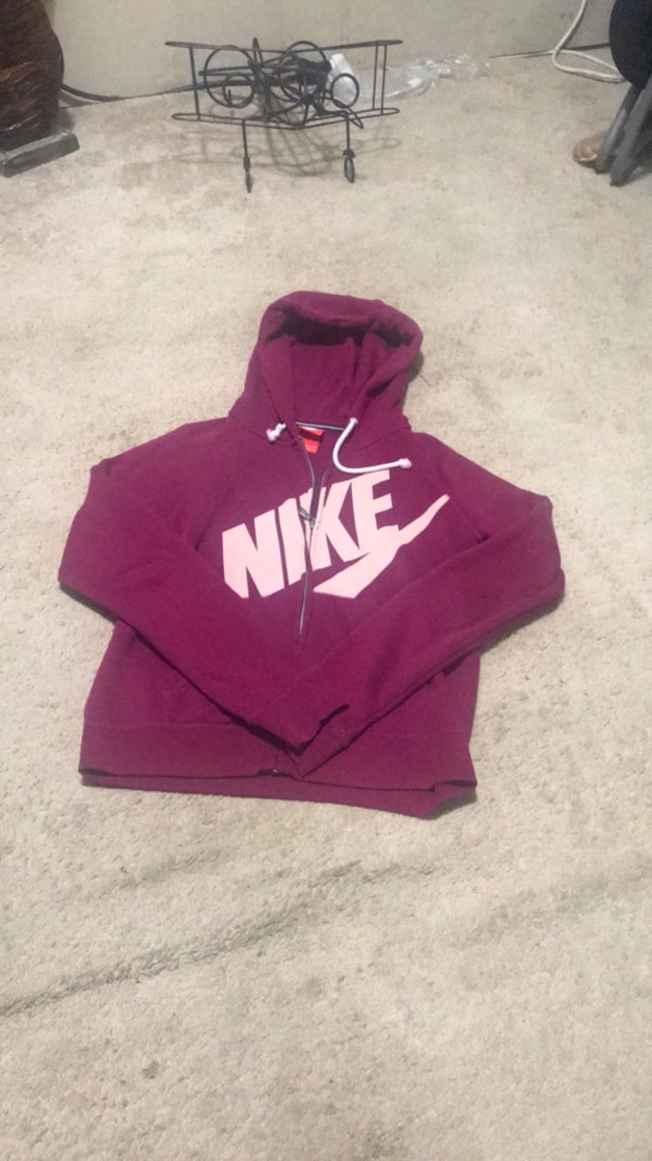 ac2a18930 Used Purple and white nike pullover hoodie for sale in Fayetteville - letgo