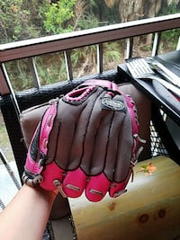 red and black baseball mitt Clearwater, 33759
