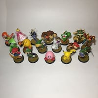 **MEGA DEAL** Lot of 17 Amiibo 417 mi