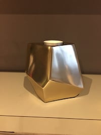 Gold geometric tea light holder Chilliwack, V2R 4L8