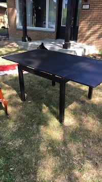 rectangular black wooden coffee table Longueuil, J4M 1E2
