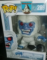 Abominable snowman diamond collection exclusive funko pop (FIRM PRICE) Toronto, M1L 2T3