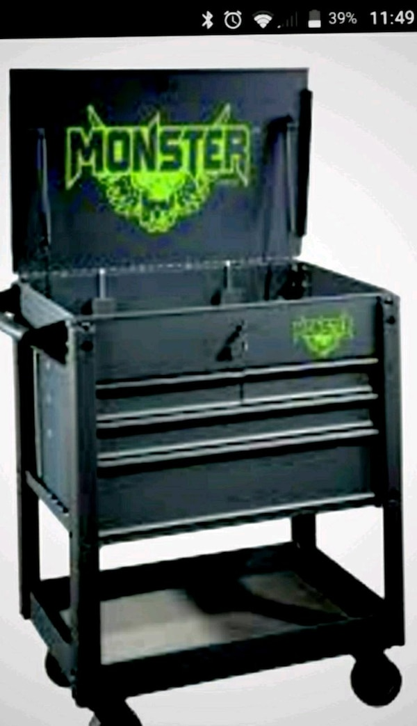 Used Monster tool box for sale in Hilo - letgo 6878490bf