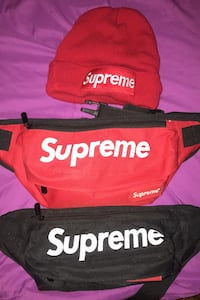 Supreme for sale fanny packs and hat Mississauga, L5B 2C9