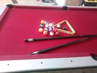 red and black billiard table Homeland, 92548