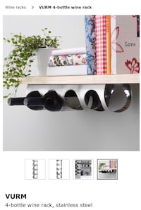 Wine Rack - Stainless Steal Columbia, 21044