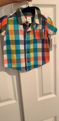 baby boys button up