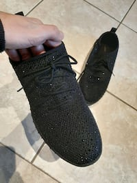 Aldo Black gem runners